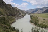 Река Катунь в Республике Алтай