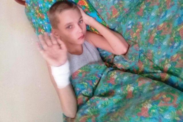 13-летний мальчик лечится в Нижневартовской детской окружной больнице