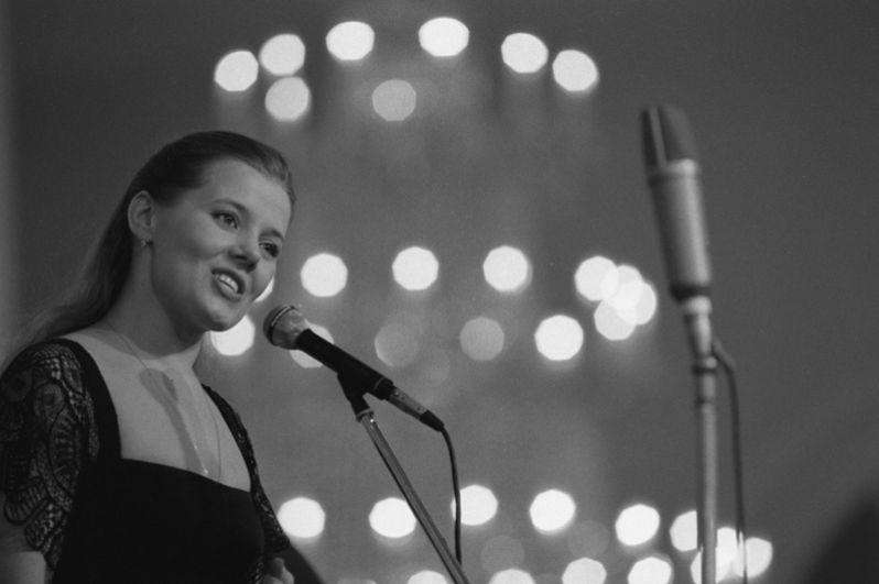 Певица Людмила Сенчина. 1984 год.
