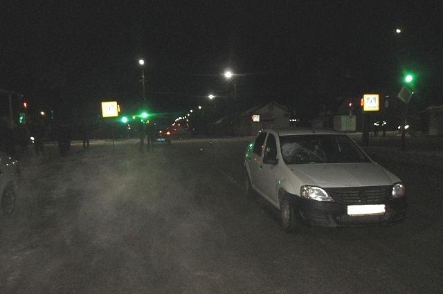 НаМосковском шоссе шофёр сбил женщину иотвез ее в поликлинику