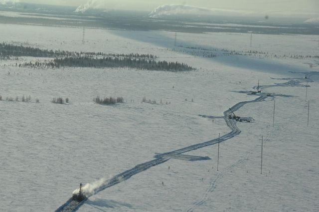 Открыт участок зимника «Усть-Войкары— Мужи»