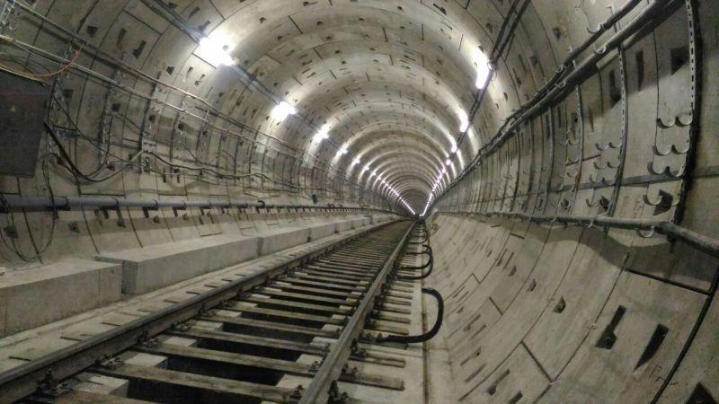 Тоннель станции.