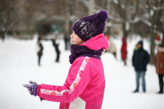 В холодную погоду большинство школьников занимаются из дома
