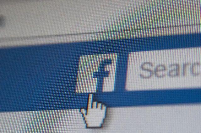 Вработе социальная сеть Facebook произошел масштабный сбой