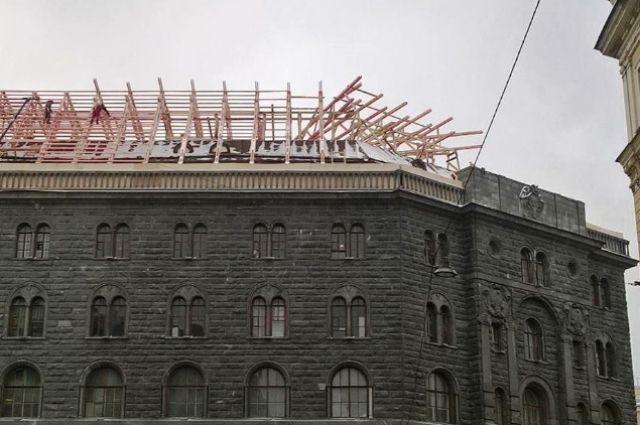 КГИОП зафиксировал нарушения вреконструкции Дома Вавельберга