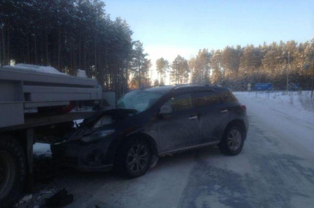 Авария произошла в Ханты-Мансийском районе