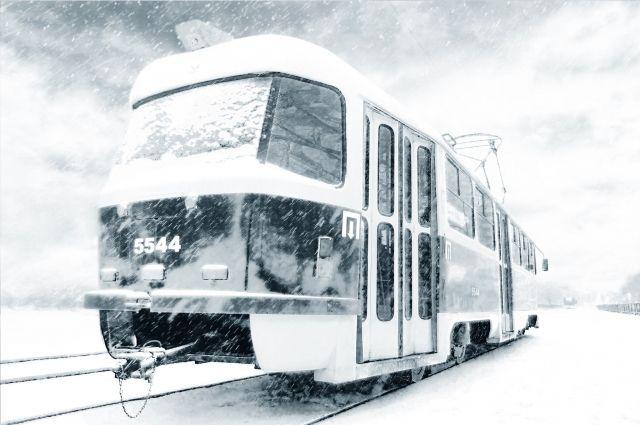 В Кемеровском трамвае умерла пассажирка.