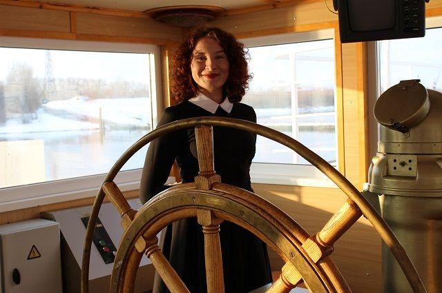 Будущий капитан Анна Рахвалова.