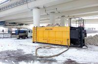 За час «Vulcan» утилизирует 60 кубометров снега.