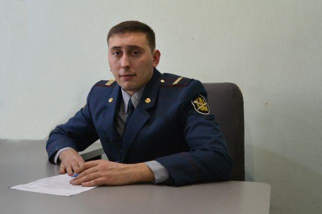 Сотрудник СИЗО-2 УФСИН России по Алтайскому краю Роман Антипин