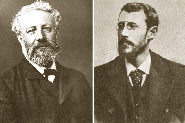 Жюль и Мишель Верны.