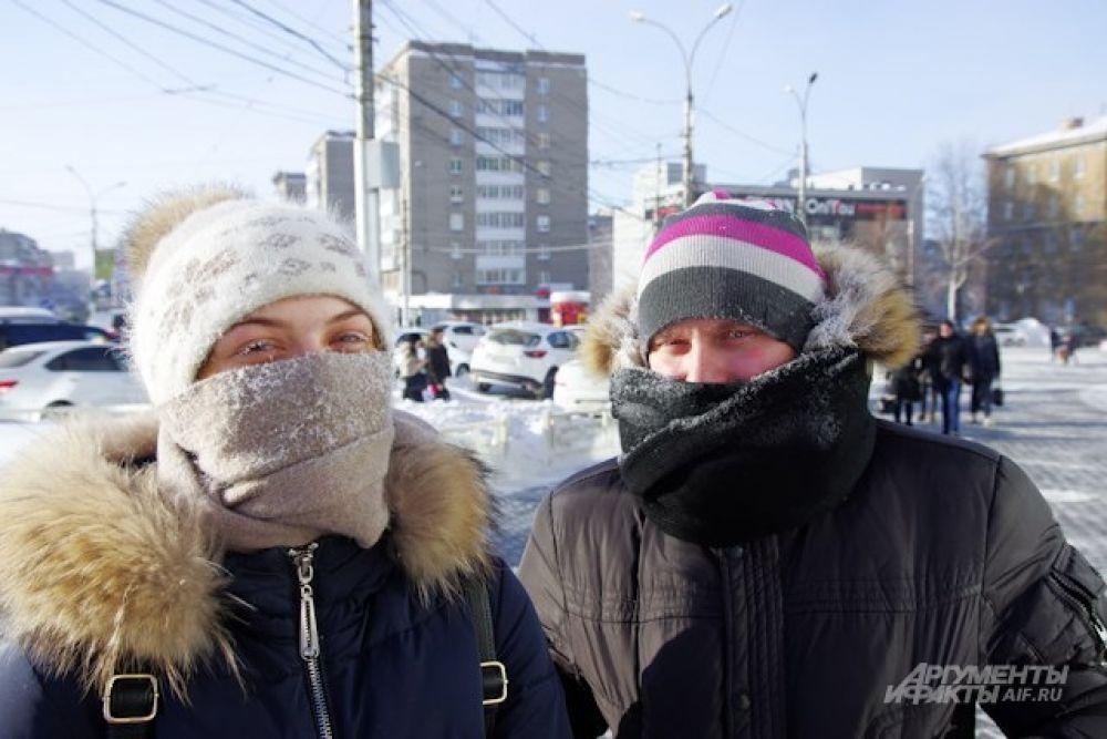 Впрочем, закутавшись потеплее, к концу недели уже многие привыкли к лютым холодам.