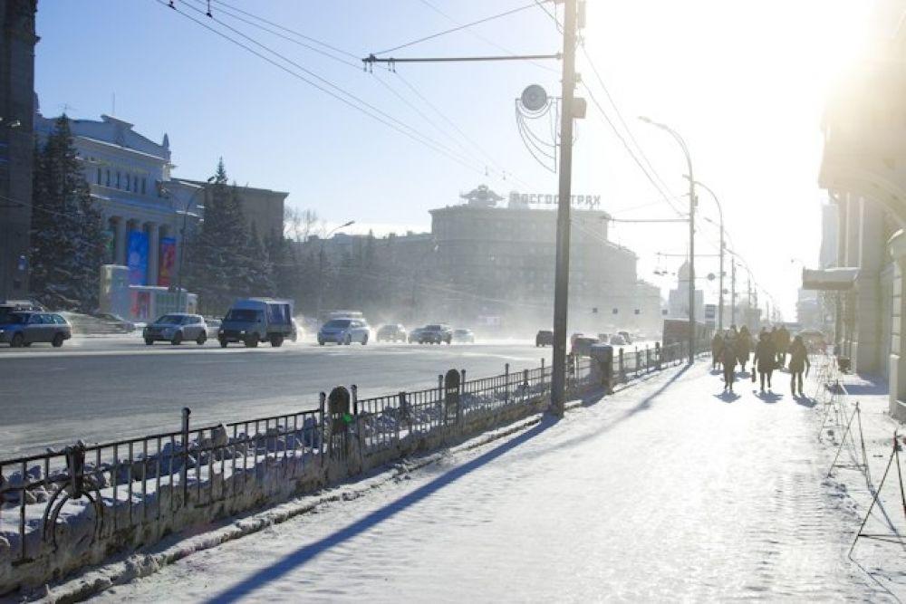 Резко холодать в Новосибирской области начало ровно неделю назад, 20 января.