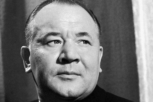 Борис Андреев, 1958 г.