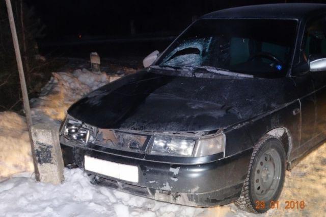 ВЧелябинской области парень наВАЗе задавил пенсионерку
