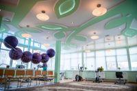 В стационаре для реабилитации пациентов оборудованы специальные залы.