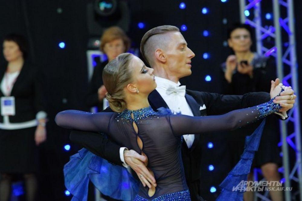 Новосибирскую область на соревнованиях представляли члены спортивных танцевальных центров и клубов
