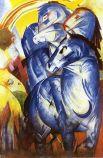 «Башня синих лошадей», 1913 год.