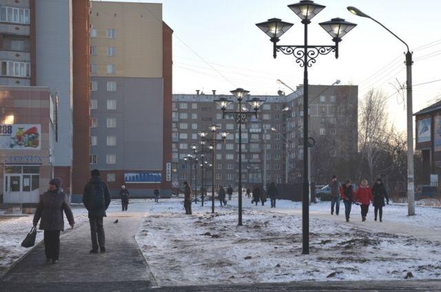 благоустройство бульвара в Новоалтайске