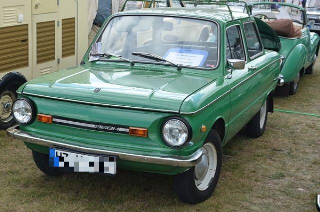 Автомобиль ЗАЗ-968М