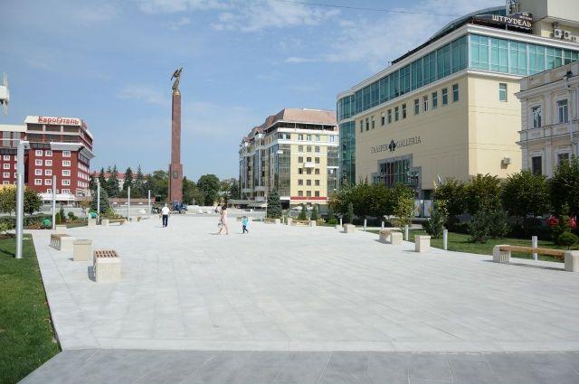 Стоянка  вцентре Ставрополя заработала в пробном  режиме