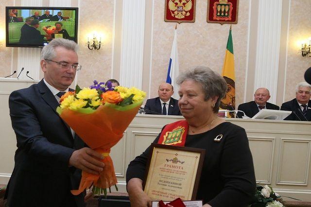 Татьне Недопёкиной присвоено высшее региональное звание.