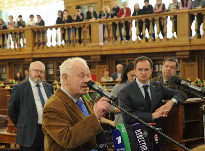 Константин Степанович Бельский — читатель библиотеки с 1959 года.