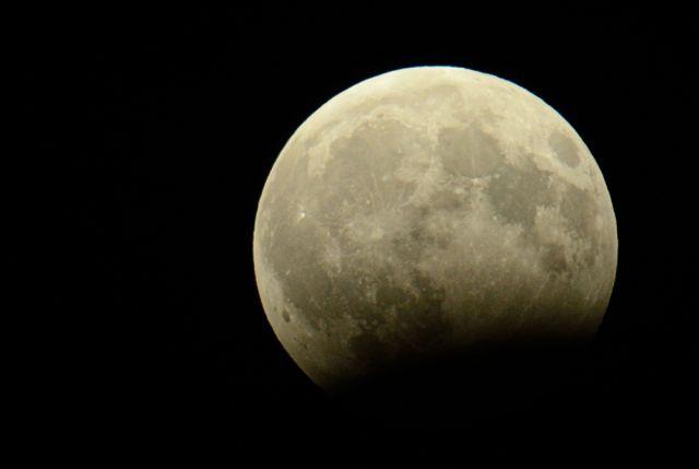 В Перми Луна взойдёт уже затмившейся.