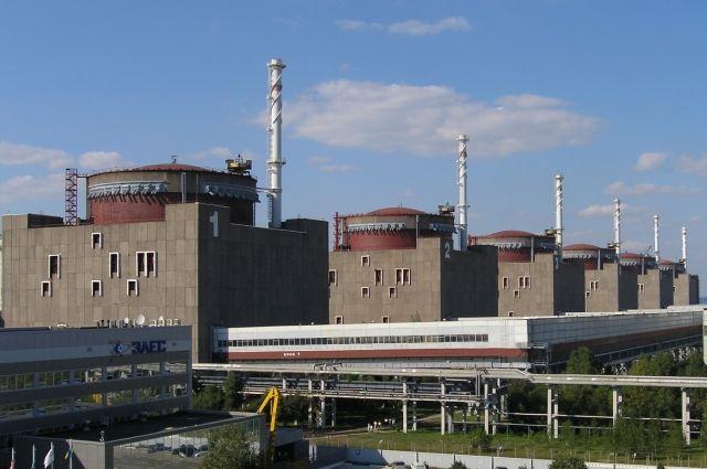 В Запорожской области отключилась атомная станция и разгружен энергоблок