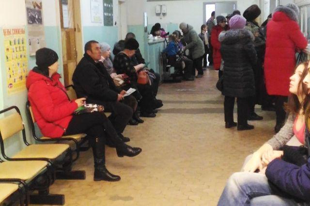 В больнице Петров Вала даже после реформ всегда многолюдно.