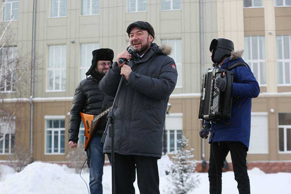 Начальник управления культуры города Иркутска Виталий Барышников.