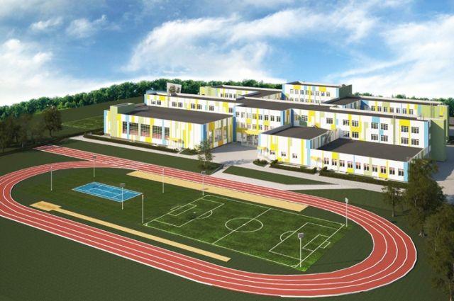 Последний раз такая крупная школа была построена в регионе почти четверть века назад.