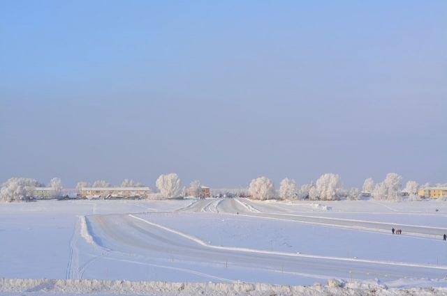 Зимник открыли по всей протяжённости.