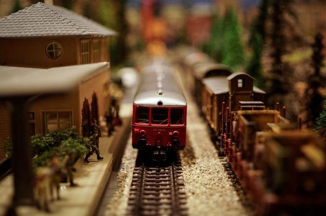Прокопчанин получил вместо бинокля детскую железную дорогу.