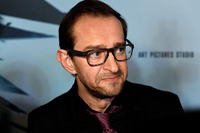 Актёр Константин Хабенский на премьере фильма «Селфи».