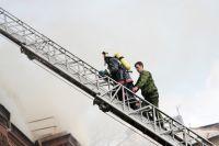 По сравнению с прошлым годом пожаров в январе стало больше.