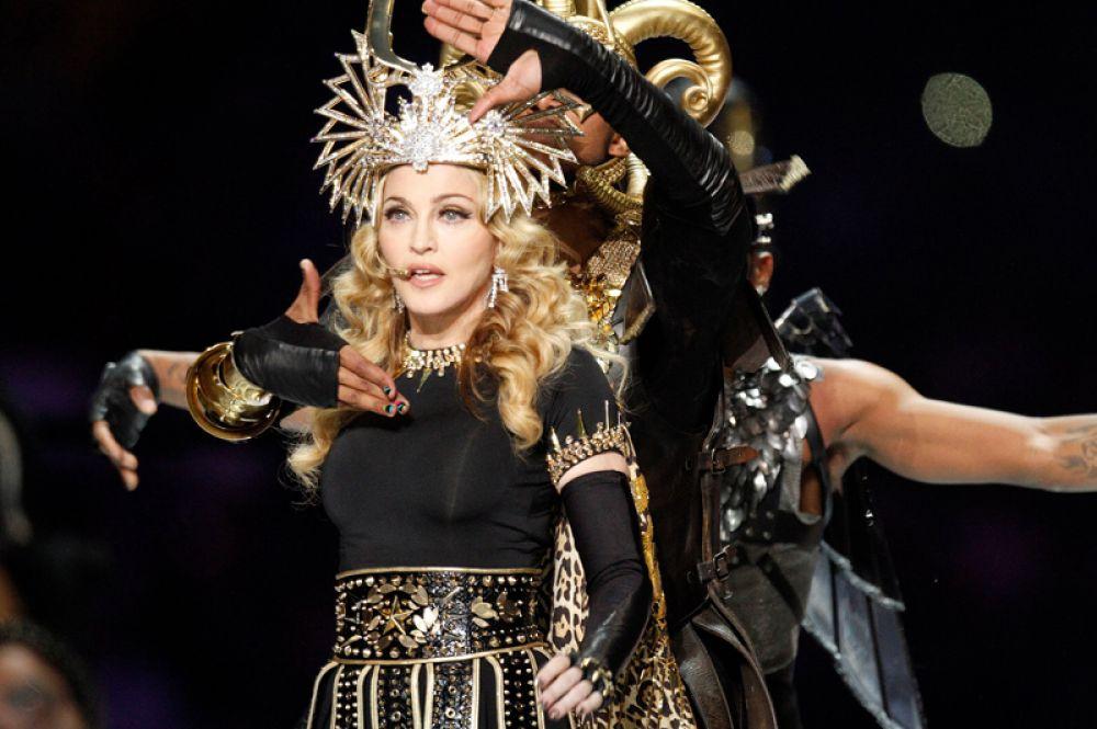 2012 год — Мадонна.