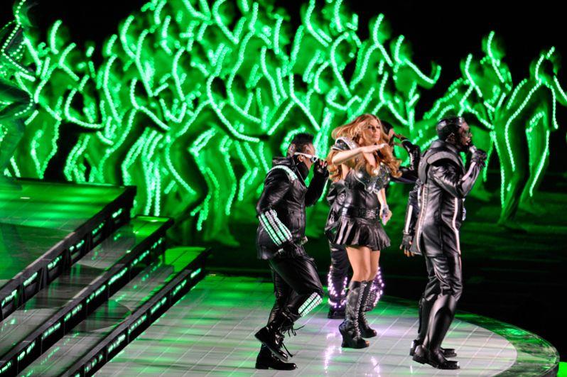 2011 год — Black Eyed Peas.