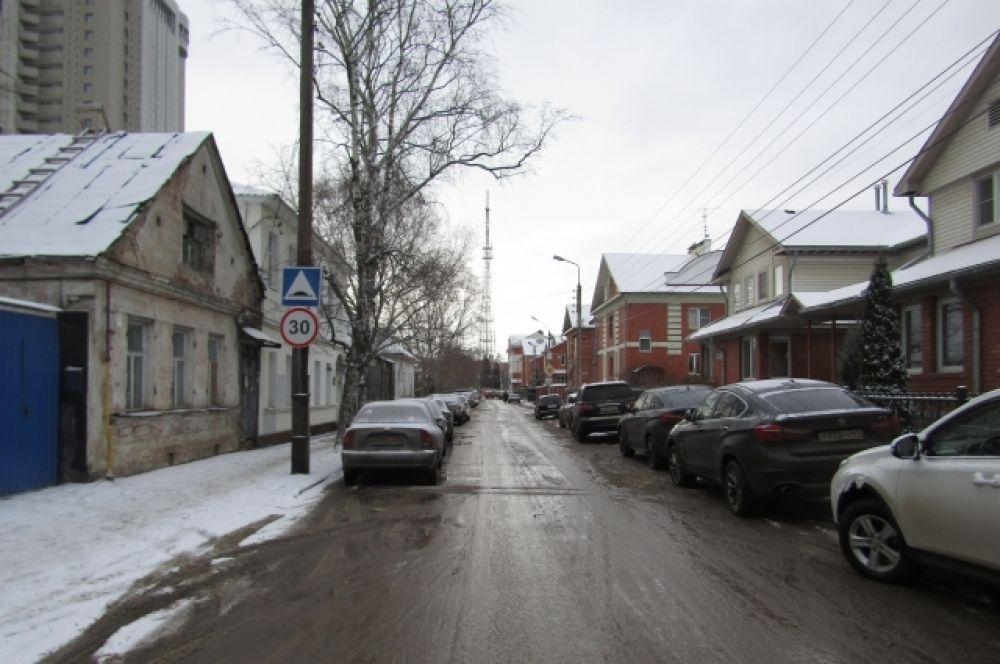 Улица Серебряная