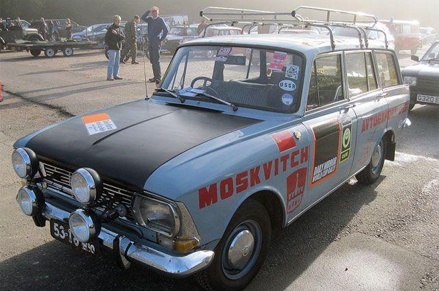 Современная реплика М-412 с ралли «Лондон-Мехико».