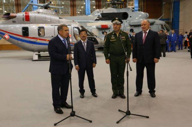 Лигай уйдет споста гендиректора Казанского вертолетного завода