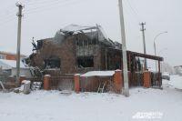 В Павловке неравнодушные прохожие спасли многодетную семью из горящего дома.