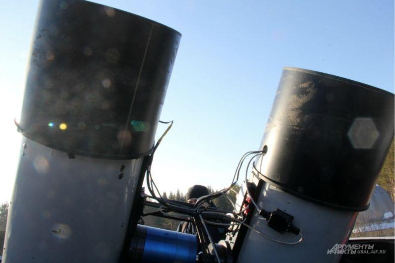 Единственное, чего боятся телескопы - сильные морозы
