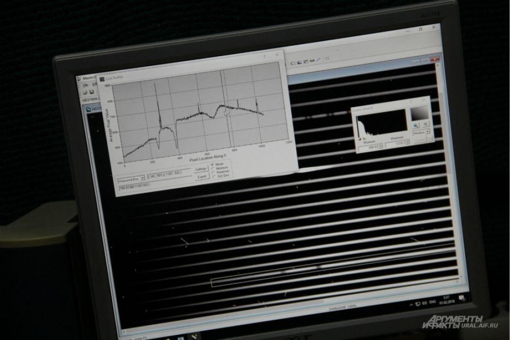 Это эшелле-спектограф. Его основа – профильная дифракционная решетка, которая позволяет направить максимум энергии в любой порядок - 100,200,300. Больше порядок – больше дисперсия. Порядки переналагаются и мы можем видеть одну решетку – весь спектр.