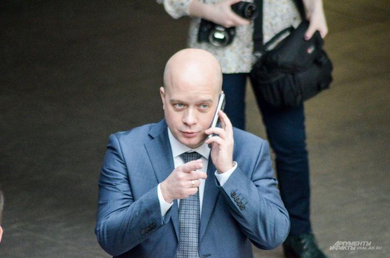 Председатель комитета по экологии администрации Екатеринбурга Егор Свалов.