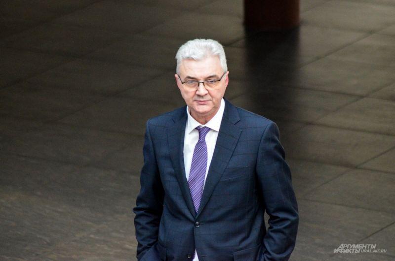 Глава администрации Екатеринбурга Александр Якоб перед стартом мероприятия.