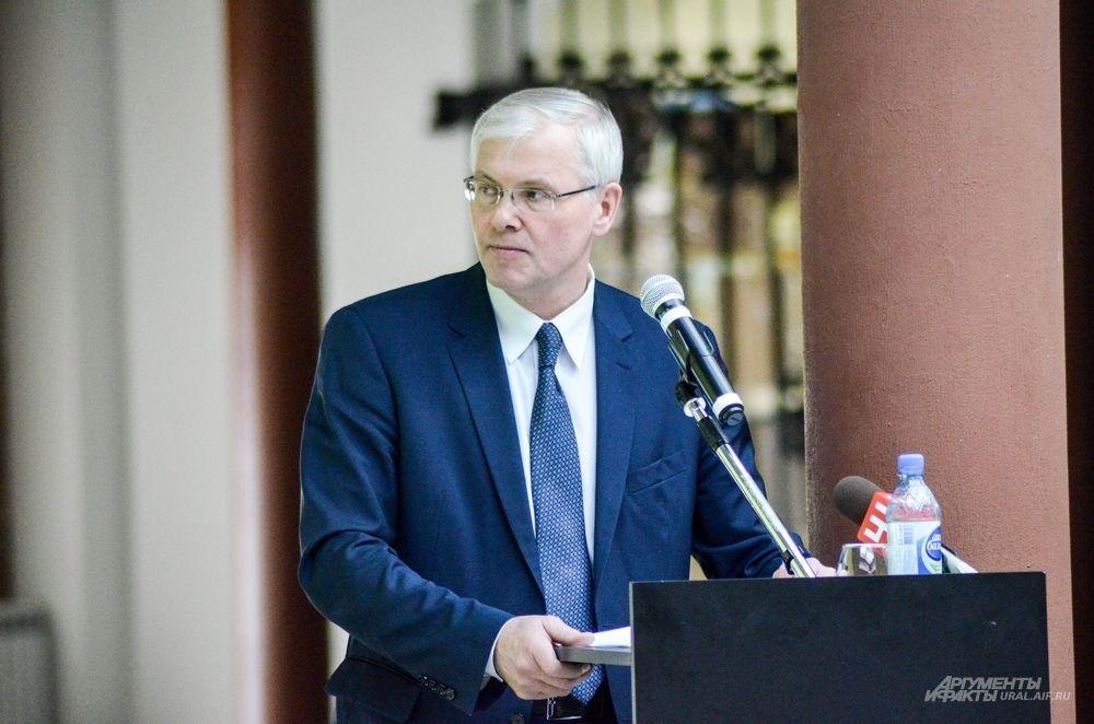 Заместитель главы администрации Екатеринбурга по стратегическому планированию Андрей Корюков.