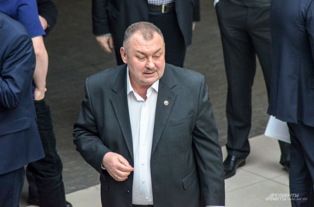 Ректор Горного университета Николай Косарев.