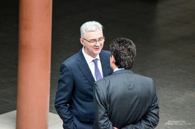 Александр Якоб встретился вице-премьером области Александром Высокинским.