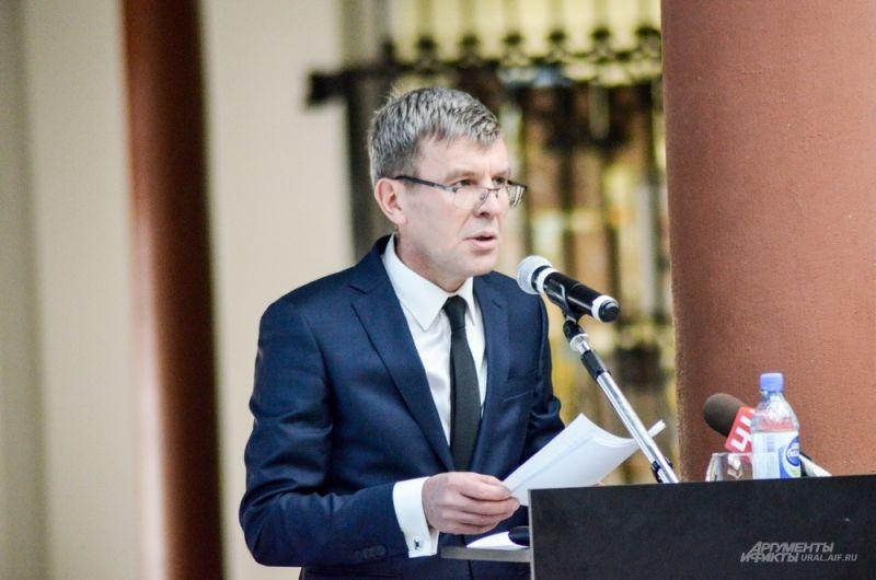 Заместитель главы администрации Екатеринбурга Виктор Боликов.